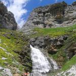 Cascadas en el Monte Perdido